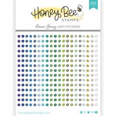 Honey Bee Stamps - Ocean Breeze Gem Stickers