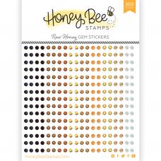 Honey Bee Stamps - Raw Honey Gem Stickers