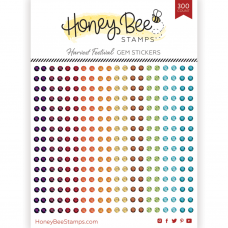 Honey Bee Stamps - Harvest Festival Gem Stickers