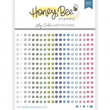 Honey Bee Stamps - Log Cabin Gem Stickers