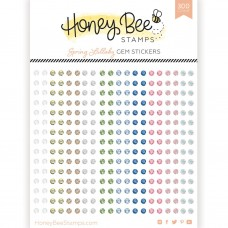 Honey Bee Stamps - Spring Lullaby Gem Stickers