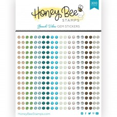 Honey Bee Stamps - Beach Vibes Gem Stickers