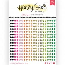 Honey Bee Stamps - Hot Tropics Gem Stickers