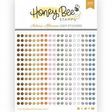 Honey Bee Stamps - Autumn Afternoon Gem Stickers