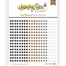 Honey Bee Stamps - Fresh Brewed Gem Stickers