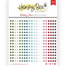 Honey Bee Stamps - Holiday Cheer Gem Stickers