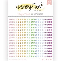 Honey Bee Stamps - Playful Pastels Gem Stickers