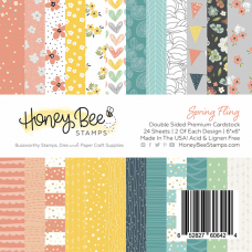 Honey Bee Stamps - Spring Fling Paper Pad