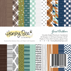 Honey Bee Stamps - Great Outdoors Paper Pad