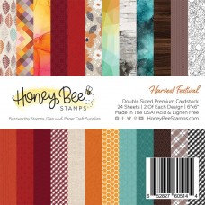 Honey Bee Stamps - Harvest Festival Paper Pad
