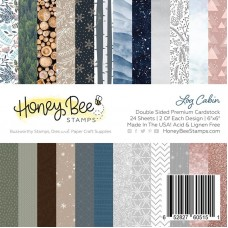 Honey Bee Stamps - Log Cabin Paper Pad