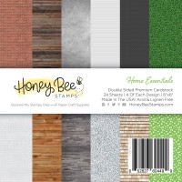 Honey Bee Stamps - Home Essentials Paper Pad