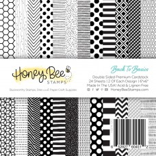 Honey Bee Stamps - Back To Basics Paper Pad