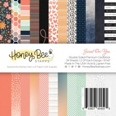 Honey Bee Stamps - Sweet On You Paper Pad