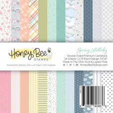 Honey Bee Stamps - Spring Lullaby Paper Pad