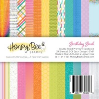 Honey Bee Stamps - Birthday Bash Paper Pad