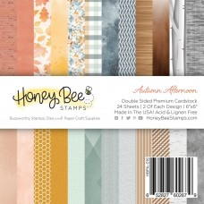 Honey Bee Stamps - Autumn Afternoon Paper Pad