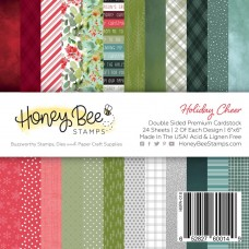 Honey Bee Stamps - Holiday Cheer Paper Pad