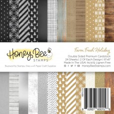 Honey Bee Stamps - Farm Fresh Holiday Paper Pad