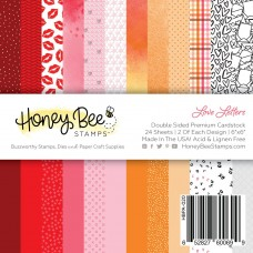 Honey Bee Stamps - Love Letters Paper Pad
