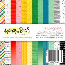 Honey Bee Stamps - Funfetti Birthday Paper Pad