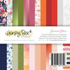 Honey Bee Stamps - Summer Stems Paper Pad