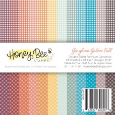 Honey Bee Stamps - Gingham Galore: Fall Paper Pad