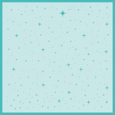 Honey Bee Stamps - Follow That Star Background Stencil