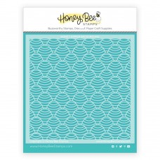 Honey Bee Stamps - Honey Dipper Background Stencil