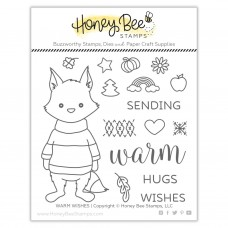 Honey Bee Stamps - Warm Wishes