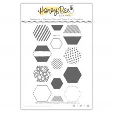 Honey Bee Stamps - Hexagon Patterns