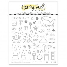 Honey Bee Stamps - Gingerbread House Add-On