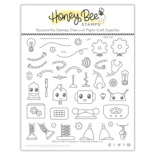 Honey Bee Stamps - Build-A-Bot Bundle (stamps and dies)