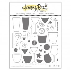 Honey Bee Stamps - Raise a Glass