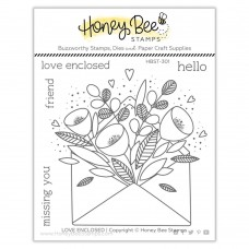 Honey Bee Stamps - Pretty Postage