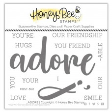 Honey Bee Stamps - Adore