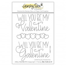 Honey Bee Stamps - Will You Be My