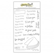 Honey Bee Stamps - Fortunate To Have You