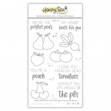Honey Bee Stamps - Heart Beets For You