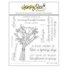 Honey Bee Stamps - Spring Joy Bouquet