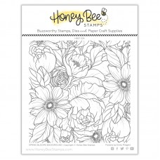 Honey Bee Stamps - Spring Blooms Background