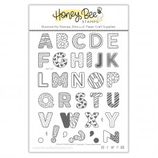 Honey Bee Stamps - Sugar Cookie Alphabet