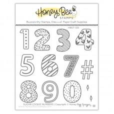 Honey Bee Stamps - Sugar Cookie Numbers