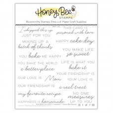 Honey Bee Stamps - You Bake Me Happy