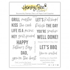 Honey Bee Stamps - Kiss The Cook