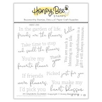 Honey Bee Stamps - My Favorite Flower