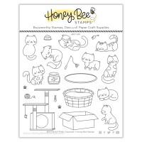 Honey Bee Stamps - Smitten Kittens