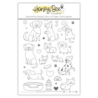 Honey Bee Stamps - Puppy Dog Tails