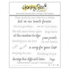 Honey Bee Stamps - Rainbow Bridge