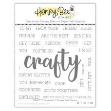 Honey Bee Stamps - Crafty